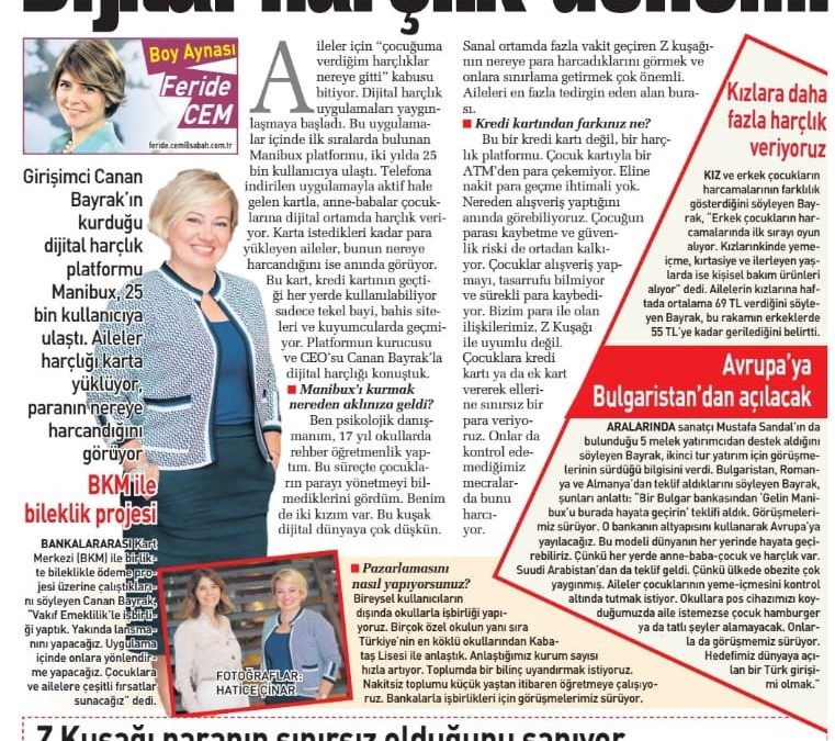 Sabah Gazetesi 19 Mayıs 2019